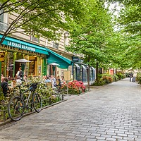 Buy canvas prints of Paris in the Spring by Alexandre Rotenberg