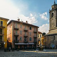 Buy canvas prints of Bellagio, Lake Como, Italy by Alexandre Rotenberg