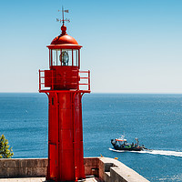 Buy canvas prints of Red Lighthouse by Alexandre Rotenberg