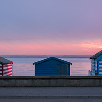 Buy canvas prints of Seaside Huts by Daniel Farrington