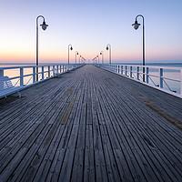 Buy canvas prints of Sunrise over the Baltic Sea by Daniel Farrington