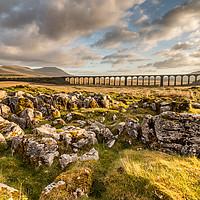 Buy canvas prints of Ribblehead Viaduct  by Tony Keogh