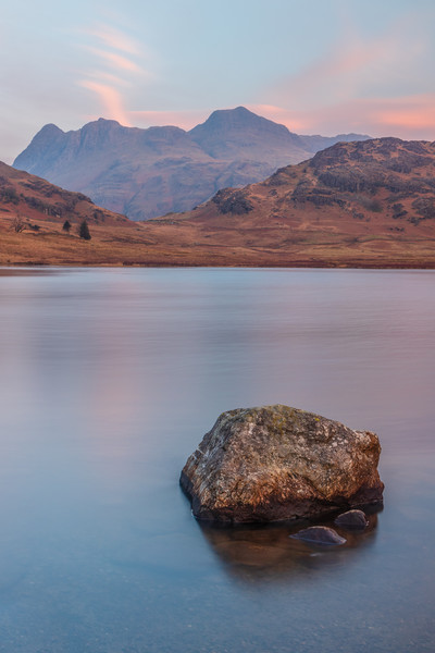 Blea Tarn and the Langdales Canvas print by Tony Keogh
