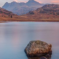Buy canvas prints of Blea Tarn and the Langdales by Tony Keogh