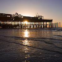 Buy canvas prints of Hastings Pier by Richard May