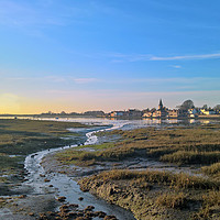 Buy canvas prints of Bosham at Low Tide by Richard May