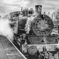 Buy canvas prints of Kent and East Sussex Railway by Richard May