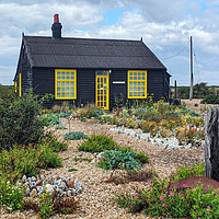 Buy canvas prints of Prospect Cottage, Dungenss by Richard May
