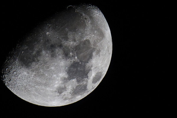 Moon Canvas print by Mike Pursey