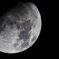 Buy canvas prints of Moon by Mike Pursey