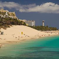 Buy canvas prints of Playa de la Cebada, Fuerteventura by Ashley Wootton