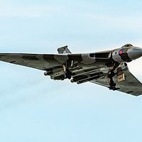 Buy canvas prints of Vulcan Bomber by RICHARD MOULT