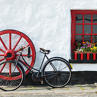 Buy canvas prints of Irish country pub near Crolly Rosses Bay by Andrew Michael