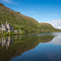 Buy canvas prints of Kylemore Abbey by Andrew Michael