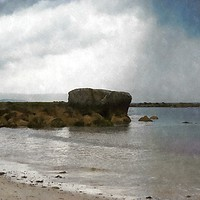 Buy canvas prints of County Galway south coast by Andrew Michael