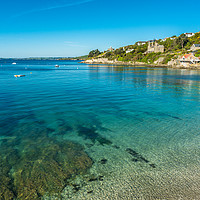 Buy canvas prints of Clear waters of St Mawes by Andrew Michael