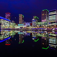 Buy canvas prints of Media City  by Gary Britton