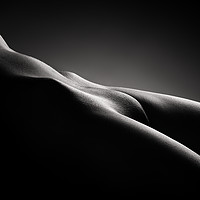 Buy canvas prints of Bodyscape of nude woman by Johan Swanepoel