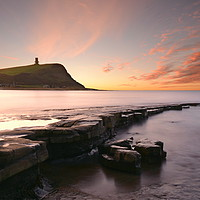 Buy canvas prints of Central Ledge Sunrise by David Neighbour