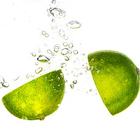 Buy canvas prints of Food Lime Splash by Gareth Williams
