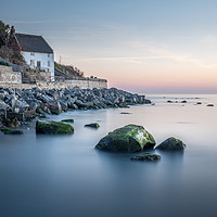 Buy canvas prints of Runswick Bay Fisherman's Cottage on the North East by Tim Hill