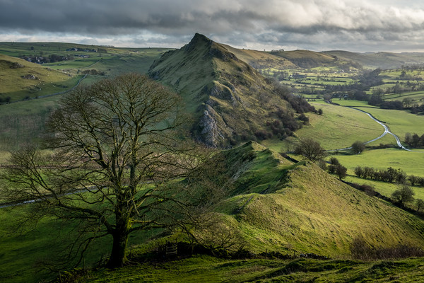 Parkhouse Hill and Chrome Hill Peak District Canvas Print by Tim Hill