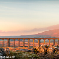 Buy canvas prints of Ribblehead Viaduct Yorkshire Dales  by Tim Hill