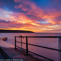 Buy canvas prints of Filey Brigg Sunrise by Tim Hill