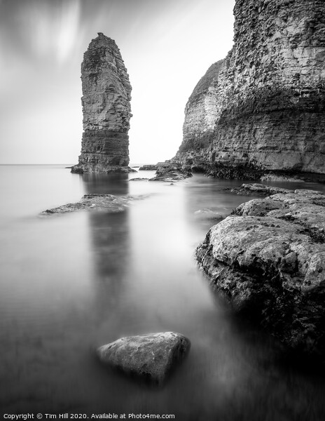 Flamborough Head Sea Stack Framed Mounted Print by Tim Hill