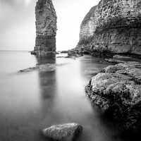 Buy canvas prints of Flamborough Head Sea Stack by Tim Hill