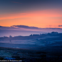Buy canvas prints of Penyghent Sunrise Yorkshire Dales by Tim Hill