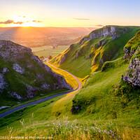 Buy canvas prints of Winnats Pass Derbyshire Peak District by Tim Hill