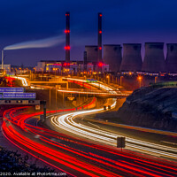 Buy canvas prints of Ferrybridge Power Station, now Decommissioned  by Tim Hill