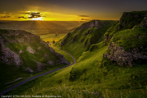 WINNATS PASS to HOPE VALLEY Canvas Print by Tim Hill