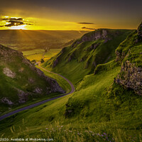 Buy canvas prints of WINNATS PASS to HOPE VALLEY by Tim Hill