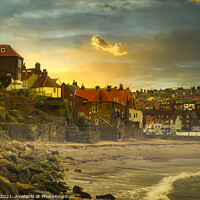 Buy canvas prints of Whitby from Tate Hill Sands by Tim Hill