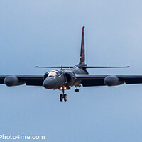 Buy canvas prints of Dragon Lady at RAF Fairford about to land by Clive Wells