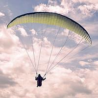 Buy canvas prints of Paragliding by Felix Pergande