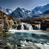 Buy canvas prints of Fairy Pools, Isle of Skye. by Phill Thornton