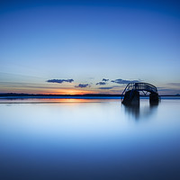 Buy canvas prints of Bridge to Nowhere No.2 by Phill Thornton