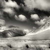 Buy canvas prints of Buachaille Etive Mor by Phill Thornton