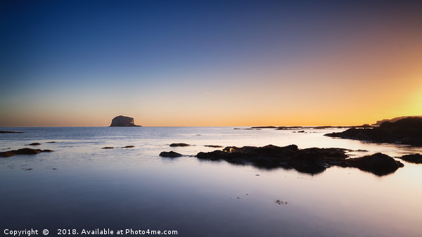 Bass Rock No.4 Canvas print by