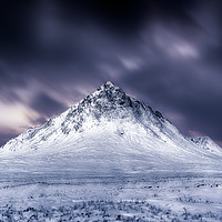 Buy canvas prints of Stob Dearg No.3 toned Black & White version by Phill Thornton