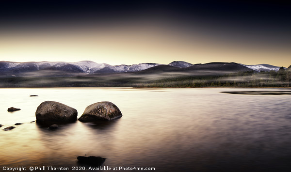 Loch Morlich No.6  Canvas print by Phill Thornton