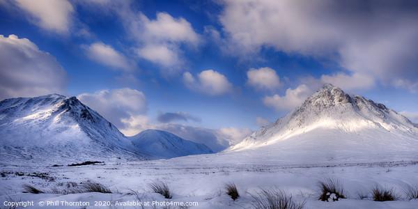Buachaille Etive Mor No.2 Canvas Print by Phill Thornton