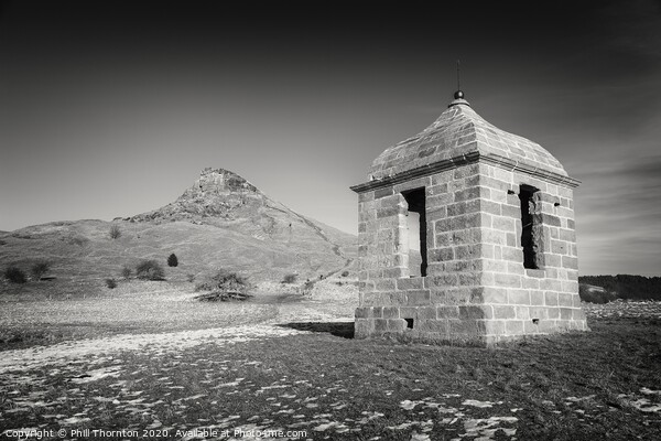 Folly or Prospect House, Roseburry Topping. Print by Phill Thornton