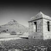 Buy canvas prints of Folly or Prospect House, Roseburry Topping. by Phill Thornton