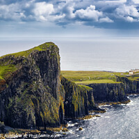 Buy canvas prints of Neist Point panorama, Isle of Skye  by Phill Thornton