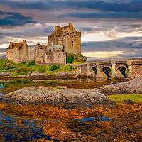 Buy canvas prints of Eileen Donan Castle by Scott Paul