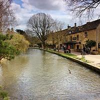 Buy canvas prints of Bourton-on-the-Water, Cotswolds by Susan Snow